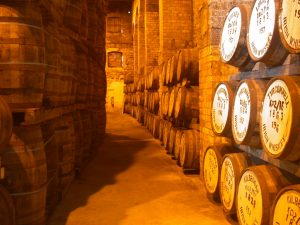 Barricas roble whisky